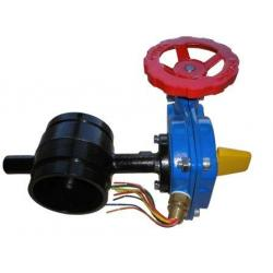 UL FM Grooved Butterfly Valves